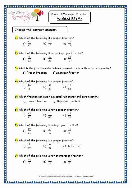 Multiplying Proper Fractions Worksheets Fresh Worksheet Grade Maths Resources Proper And Improper Proper Fractions Fractions Worksheets Improper Fractions