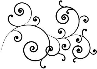 9 Best Clip Art Images Pyrography Drawing Designs Swirl Design