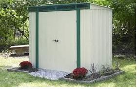 Arrow 6x4 Euro Lite Steel Storage Shed Steel Storage Sheds Shed Storage Shed