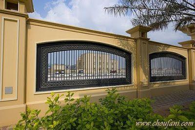 Modern Home Exterior Fence Design Ideas 2019 Fence Gate Design Compound Wall Design Fence Design