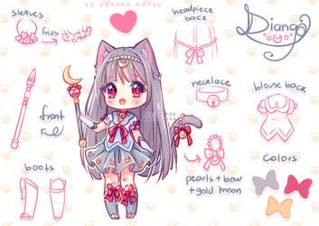 Video Commission With The Power Of The Nyans By Hyanna Natsu Cute Anime Chibi Chibi Drawings Character Design
