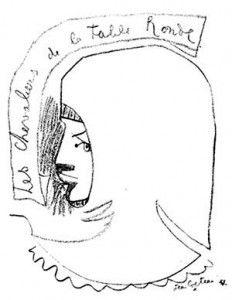 Les Chevaliers De La Table Ronde Jean Cocteau Dessin 1