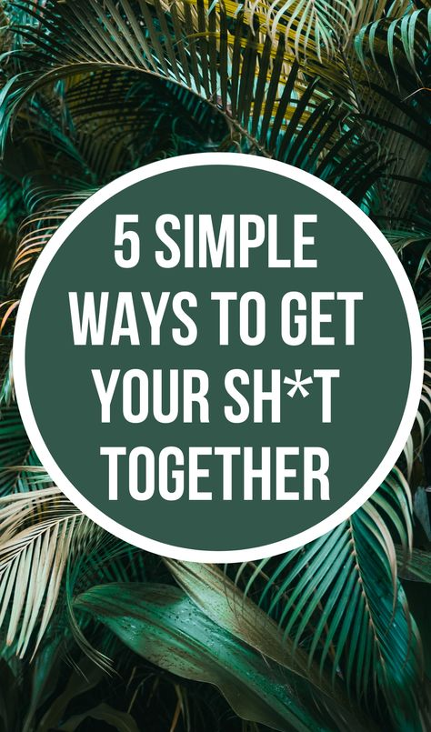 Productivity Tips: 5 Simple Ways to Get It All Together
