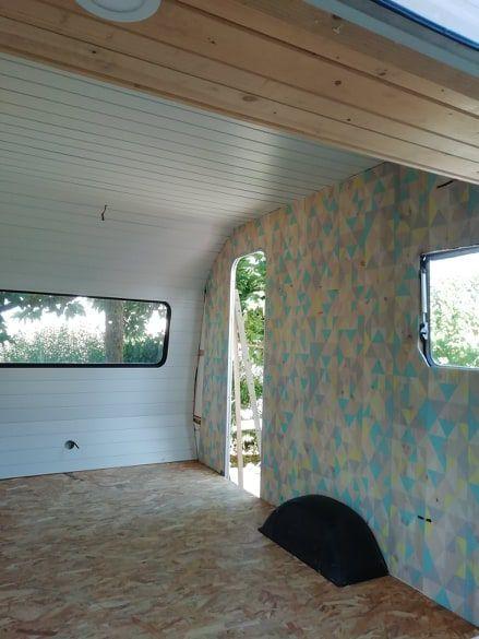 7 Mon Atelier Couture Dans Une Caravane La Suite Bout 2 Ficelle Caravane Atelier Lambris Pvc