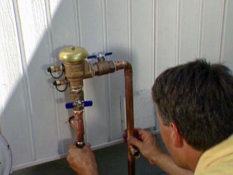 How to Install a Sprinkler System | Landscaping | Sprinkler