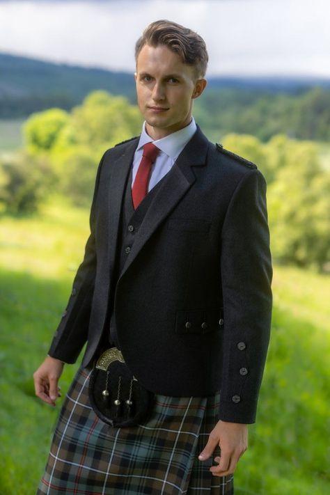 Braemar Kilt Jacket & Vest - 46 / Short / Jacket & Waistcoat