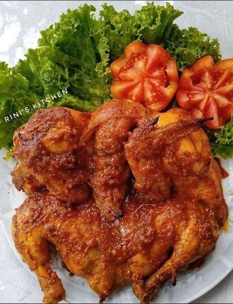 Ayam Bakar Bumbu Rujak Resep Masakan Masakan Resep