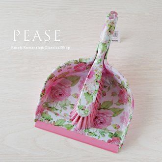Pink Rose Dust Pan Broom Dustpan Set Floral Cute Cleaning Brush Interior Broom And Dustpan Dust Pan Pink Rose