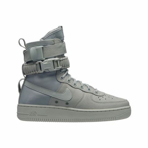 Nike SF Air Force 1 Light SilverLight SilverMica GreenOil