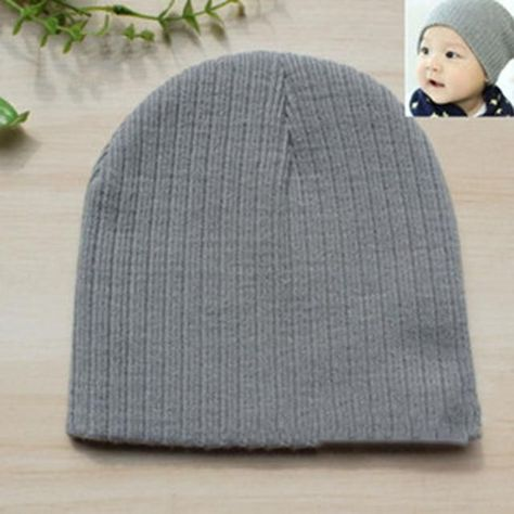 Love Scuba Diving Wool Beanies Cap Fashion Boy 0-3 Old