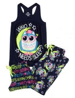 Shop Owl Pajama Set and other trendy girls pajamas pjs, bras & panties at Justice. Find the cutest girls pjs, bras & panties to make a statement today.