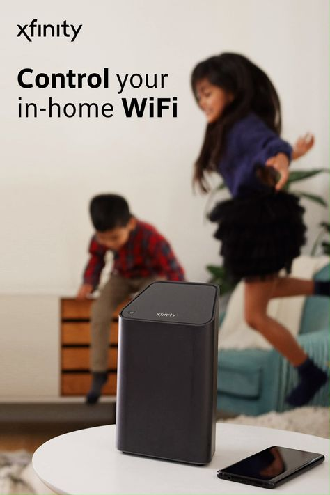 Xfinity XFi gives you the speed, coverage and control you need for the ultimate in-home WiFi experience. Tap the Pin to explore.