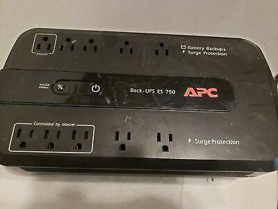 Ebay Sponsored Apc Be750g Ups System 750va Battery Backup Surge Protection No Batteries In 2020 Ups System Surge Protection Battery Backup