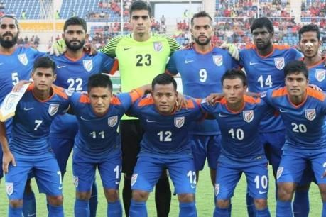 India National Football Team Reached The Top 100 In Fifa National Football Teams National Football Asian Games