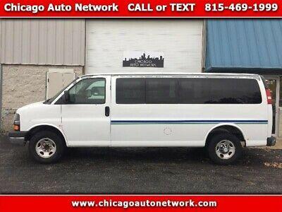 Ebay Advertisement 2007 Chevrolet Express Ls 3500 Extended 15 Passenger Van 2007 Chevrolet Express 15 Passenger Van Vehicle Shipping Travel Trailer