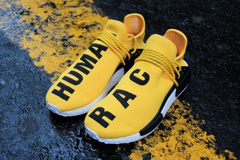 6a1653f0da98a4 adidas X Pharrell Williams HU Human Race NMD - EQT Yellow | Shoe Game