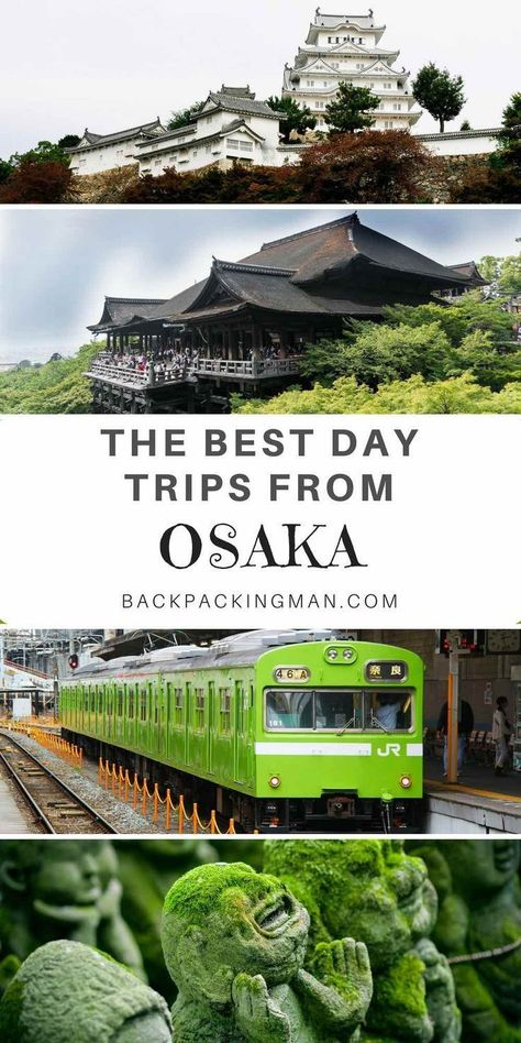 Japan travel | A collection of some of the best day trips from Osaka. Can you recommend others not mentioned here? #japan #osaka #kyoto #JapanTravelBucketLists