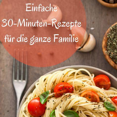 Tolle und schnelle Gerichte für Kinder bzw. für die ganze Familie. Nicht alle Kinder essen gut, aber diese werden allen schmecken!
