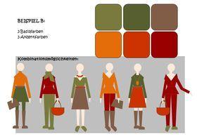 Drei Plus Drei Gegen Das Farben Einerlei Der Herbst Farbtyp