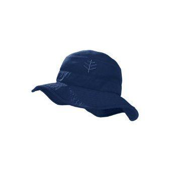 Coolibar UPF 50+ Kid s Surfs Up Bucket Hat - Sun Protective (Small Medium -  Navy) Coolibar.  15.99 406aebe14825