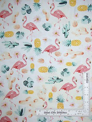 Pale Flamingo Pink Cotton Stretch Sateen Beautiful for Spring!