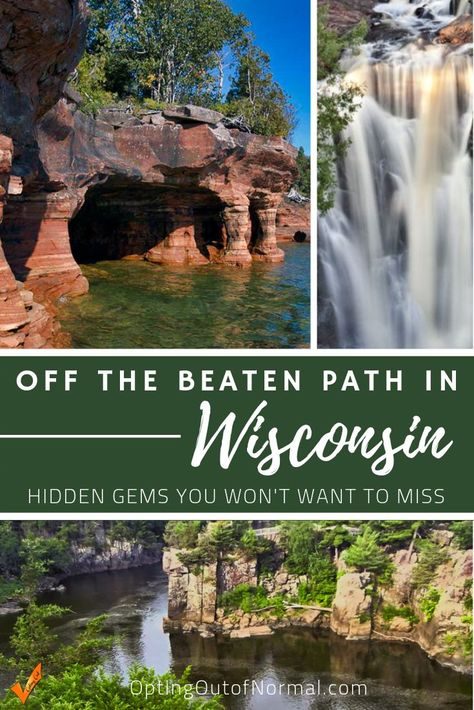 When you travel to Wisconsin, by all means check out Milwaukee, Door Country and the Dells. But if you're looking for things to do in Wisconsin that are more quiet and off the beaten path, check out our list of 9 hidden gems to put on your bucket list for Us Travel Destinations, Places To Travel, Places To See, Wisconsin Vacation, Wisconsin Dells, Camping In Wisconsin, Wisconsin Attractions, Wisconsin State Parks, Door County Wisconsin