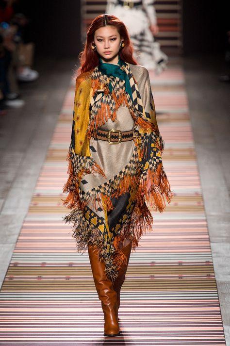 Etro At Milan Fashion Week Fall 2018 - The Most Beautiful Runway Dresses From Milan Fashion Week Fall 2018 - Photos