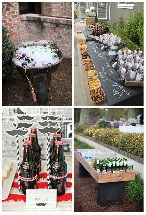 Una fiesta de cumpleaños para hombres no sería lo mismo sin cerveza