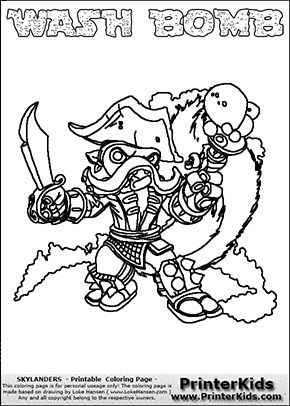 Check More At Https Bo Peep Club Thick Lined Coloring Pages Coloring Pages Skylanders Skylanders Swap Force