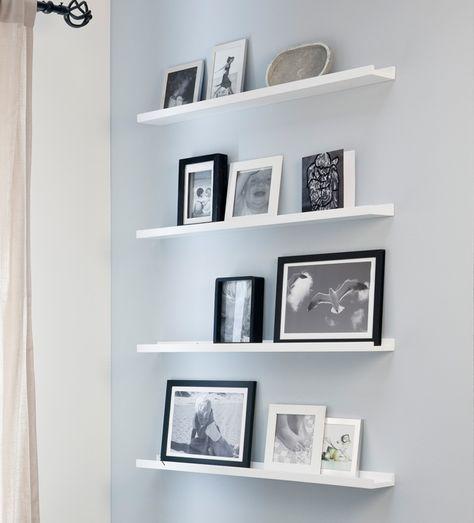 Fotolijst Wandplank Wit.Contrast Aan De Wand Maak Een Statement Van Je Muur Door