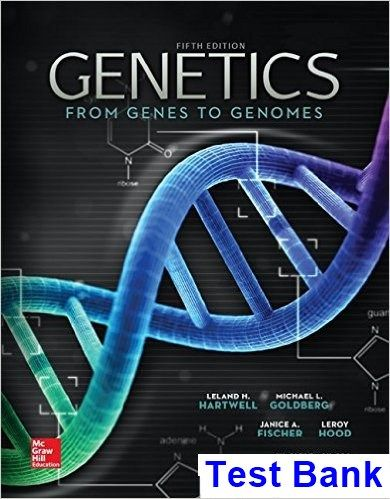 Test Bank for Genetics From Genes to Genomes 5th Edition by