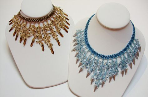 Fringe Beaded Necklace from Laura's Beads and Jewelry Boutique featured in Bead-Patterns.com Newsletter!