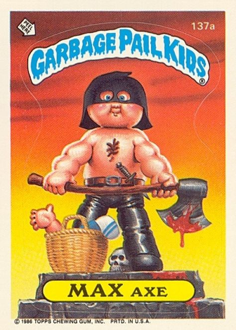 Garbage Pail Kids, Cabbage Patch Cousins Trading Cards (PICTURES)