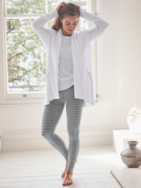 Pranayama Wrap | Athleta White Size Small Heather