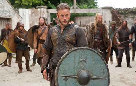 """Vikings"" on the History Channel - love this actor, who plays Ragnar"