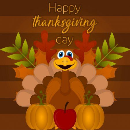 Happy Thanksgiving Day Card Stock Vector Affiliate Day Thanksgiving Happy Vector Ad In 2020 Happy Thanksgiving Day Happy Thanksgiving Thanksgiving Day