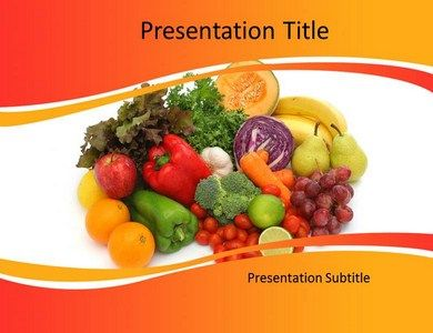18 best health powerpoint template images on pinterest template download the diets and nutritions powerpoint template toneelgroepblik Image collections