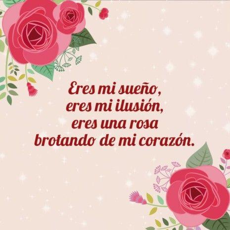Imágenes De Amor Eterno Con Poemas Cortos De Amor Love Messages Sentimental Quotations