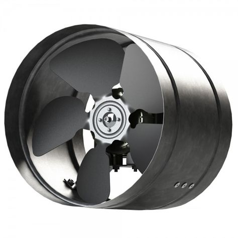 Inline Duct Fan 160 350mm Metal Arw Industrial Extractor Fan In