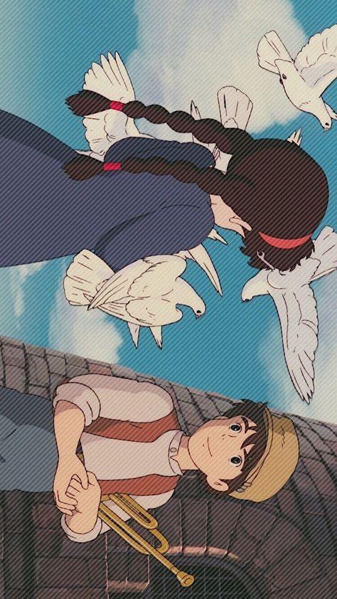 천공의 성 라퓨타(1986) 배경화면