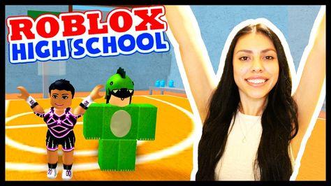 Cheerleading Tryouts Roblox High School Youtube Cutie