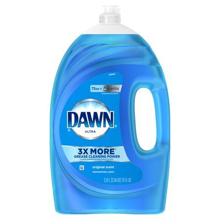 Dawn Ultra Liquid Dish Soap Original Scent 75 Fl Oz Walmart