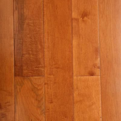 Bruce Maple Cinnamon 3 4 In Thick X 5 In Wide X Varying Length Solid Hardwood Flooring 23 5 Sq Ft Case Ahs523 The Home Depot Hardwood Floors Solid Hardwood Floors Bruce Hardwood Floors