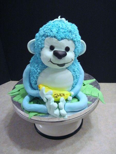 Happy Birthday - Page 26 770c7bed88c5fa1ea8aad962701fbcfc--monkey-cakes-cake-decorating