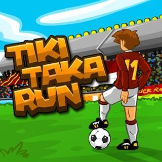 Tiki Taka Koşusu Oyun Oynatıcı For Gamesbu Tiki Taka Zamanı Topu Ileri Doğru Sür Ve En Kısa Sürede Gol At Oyunlar Futbol Oyun