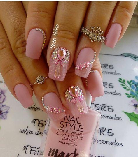 38 Trendy Nails Pink Desing
