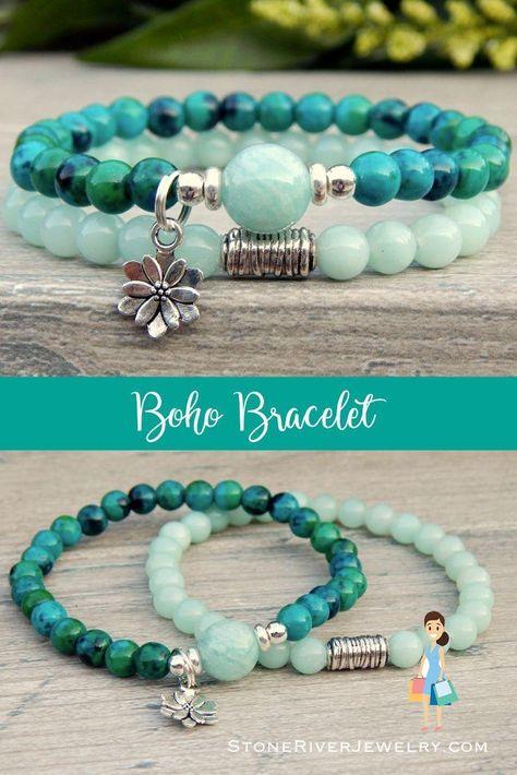 Yoga Bracelet, Bangle Bracelets, Handmade Jewelry Bracelets, Couple Bracelets, Gemstone Bracelets, Charms For Bracelets, Diy Bracelets Easy, Rose Quartz Bracelet, Rosary Bracelet