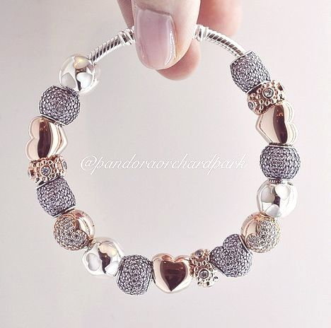 pandora charm braccialetti