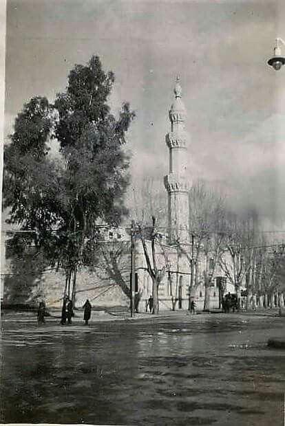 جامع المولوية بشارع النصر مقابل الحجاز Damascus Syria Old Photos Photo