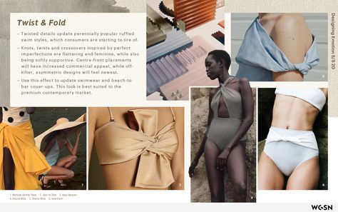 WGSN SS20 mood boards to get inspired in swimsuits for clothing. Sept 11
